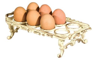 cast iron 8 egg tray