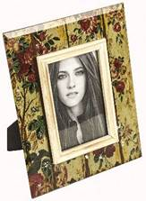flowers photo frame