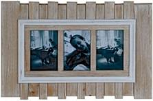 wooden 3 photo frame