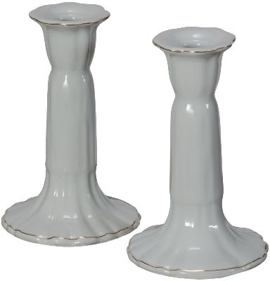 ceramic candle sticks